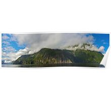 Mitre Peak and Milford Sound Poster