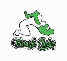 Triangle Choke Mixed Martial Arts Green  T-Shirt