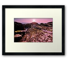 seaweed on the Rocks! Framed Print