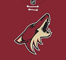 Arizona Coyotes Home Jersey by Russ Jericho