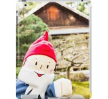 Garden House Gnome iPad Case/Skin