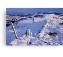 Winter Morning - The Helm, Cumbria Canvas Print