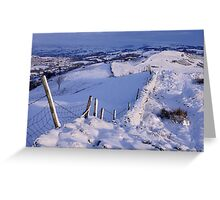 Winter Morning - The Helm, Cumbria Greeting Card