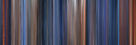 Moviebarcode: Terminator 2: Judgment Day (1991) by moviebarcode