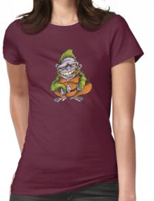 The Green Gorilla Womens Fitted T-Shirt
