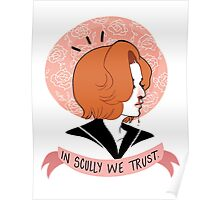 In Scully We Trust. Poster