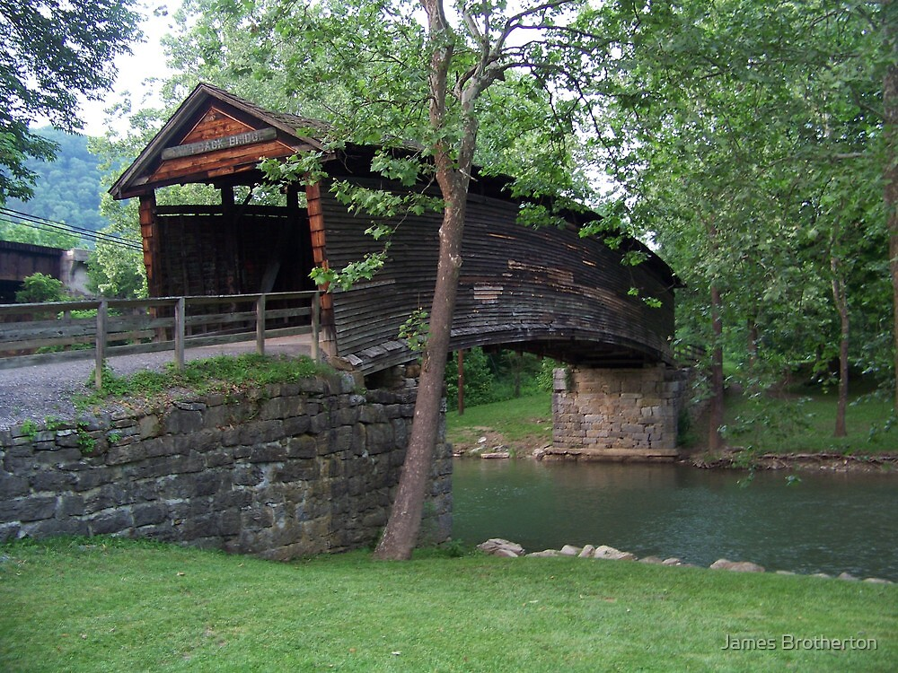 The Humpback Covered Bridge by James Brotherton
