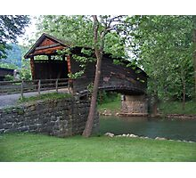 The Humpback Covered Bridge Photographic Print