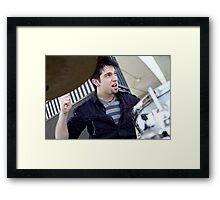 jammin Framed Print