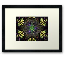 Elliptic Splits Dark Star  (UF0254) Framed Print