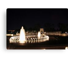 WWII Memorial - Washington, D.C. Canvas Print