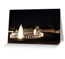 WWII Memorial - Washington, D.C. Greeting Card