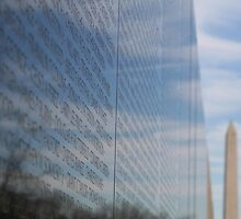 Writing on the Wall - Washington D.C. by searchlight