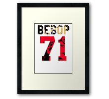 BEBOP 71 - BACKPIECE Framed Print