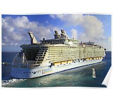 The current largest cruise ship on the sea! Poster