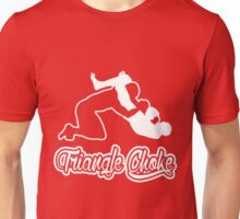 Triangle Choke Mixed Martial Arts White  Unisex T-Shirt