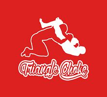 Triangle Choke Mixed Martial Arts White  T-Shirt