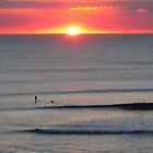 Sunset over the sea at Seaford 6 by Phil Harvie