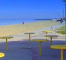 Elwood Beach -  kiosk - Victoria - Australia by bayside2