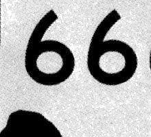 Texas Farm Road 666 Sticker