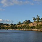 Kangaroo Point Cliffs in Brisbane by Ian McKenzie