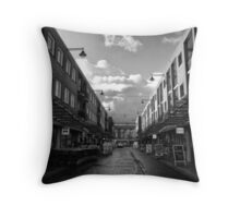 Urban: The shops have just opened Throw Pillow