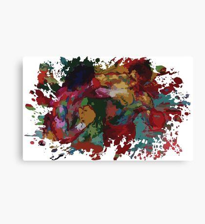 Rocky III Painting Canvas Print