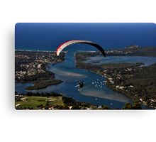 Paragliding to Harrington NSW Australia !!! Canvas Print