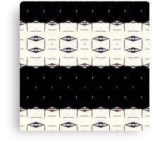 Midnight graphic pattern  Canvas Print