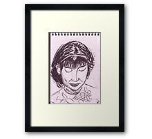 Asian Woman Framed Print