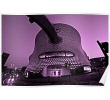 Fresh Take on Iconic Selfridges Building Poster