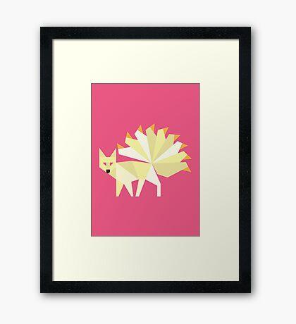 Ninetails #038 Framed Print