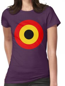 Belgian Air Force Insignia Womens Fitted T-Shirt