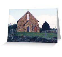 Historic Church, Hill End Greeting Card