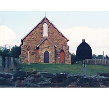 Historic Church, Hill End Photographic Print
