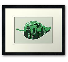 Let's Leave This Place Framed Print