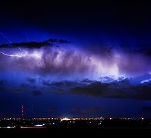 Cloud to Cloud Lightning Boulder County Colorado by Bo Insogna