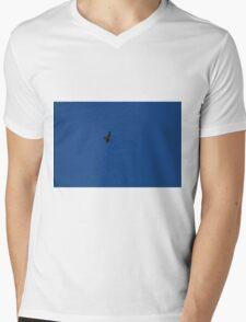 Golden Eagle Mens V-Neck T-Shirt