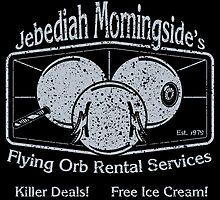 Jebediah Murningside's Flying Orbs by Aaron Garcia