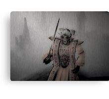 Samurai Protected Canvas Print
