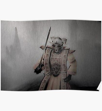 Samurai Protected Poster
