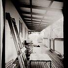 Cluttered verandah by Mark Will