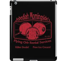 Jebediah Morningside's Bloody Flying Orbs iPad Case/Skin
