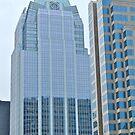 High Rise Reflection 5 - The Batman Building - Downtown - Austin Texas Series - 2011 by Jack McCabe