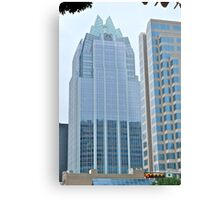 High Rise Reflection 5 - The Batman Building - Downtown - Austin Texas Series - 2011 Metal Print