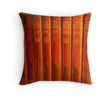 The Antique 'Four Minute Essay' Throw Pillow