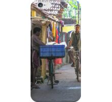 Street scene, Kochi, Kerala, India iPhone Case/Skin