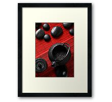 Red Tea Framed Print
