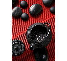 Red Tea Photographic Print