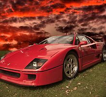 Ferarri Concept-F512 by Cameron Lundstedt